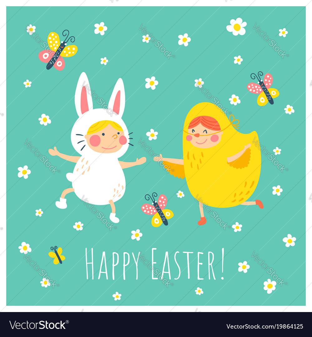Easter bunny chicken