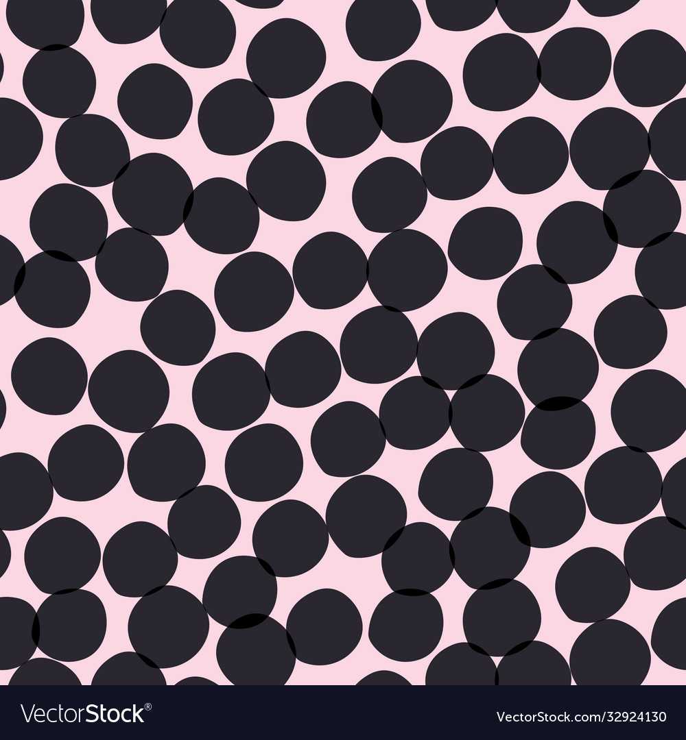 Imperfect spotty circular dot repeat