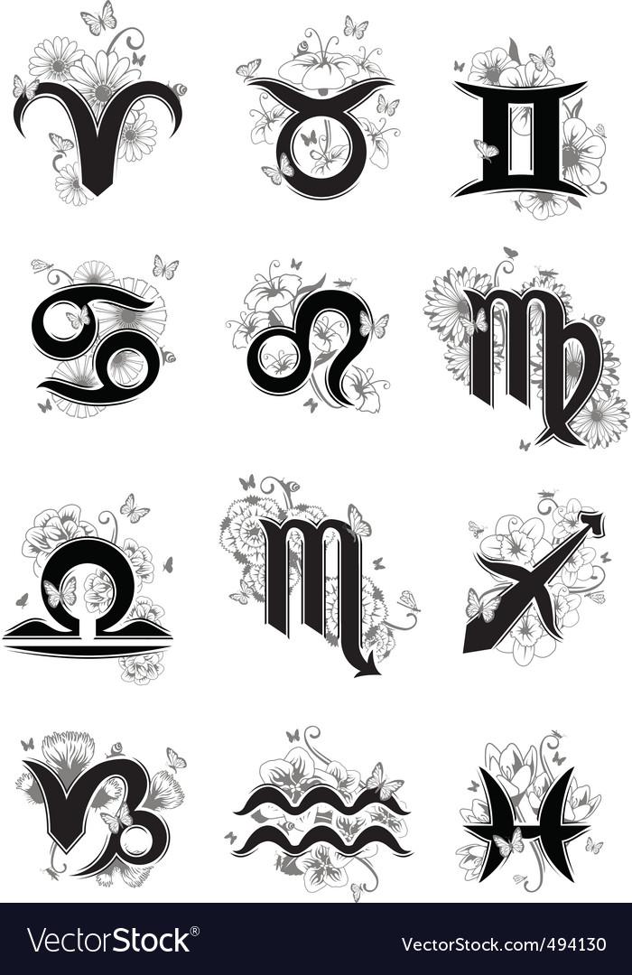 Zodiak Libra Vector Images (68)