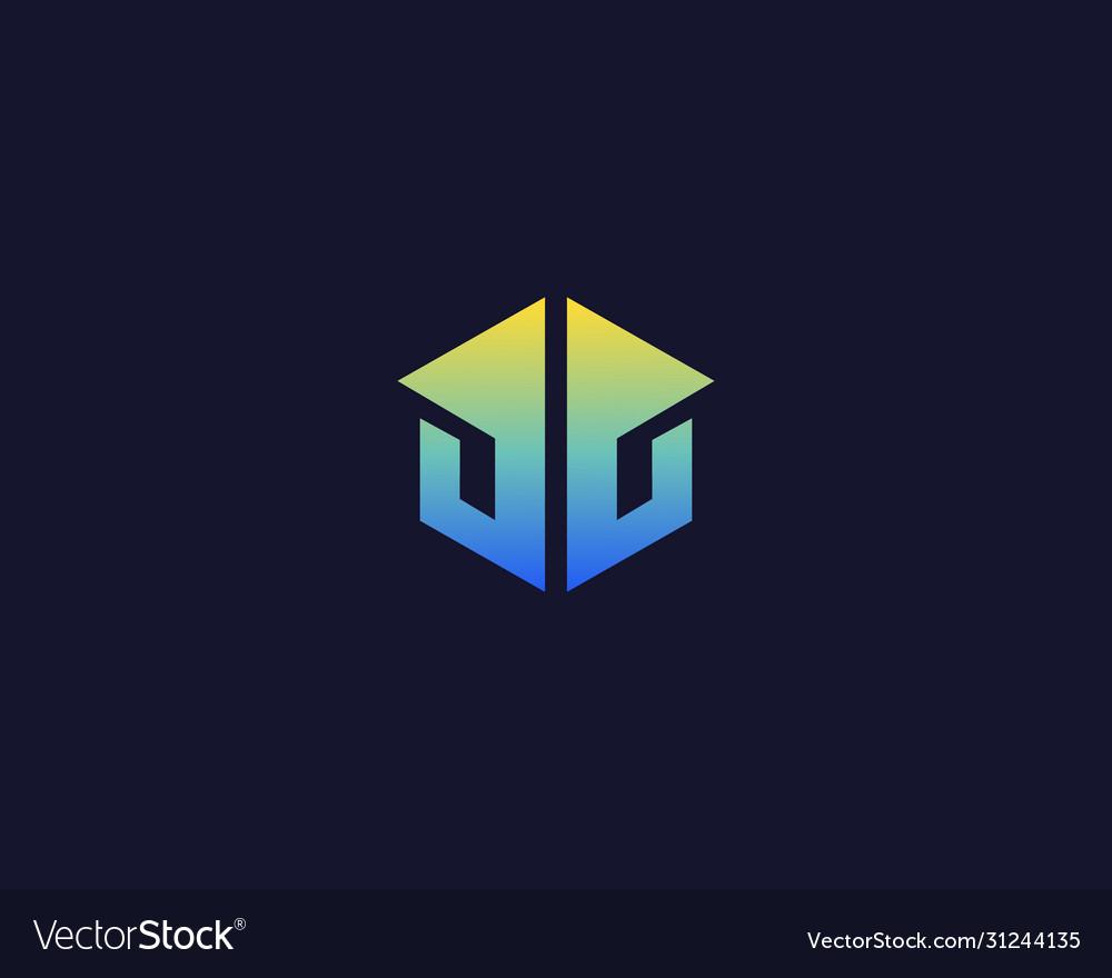 Abstract house apartment villa logo icon design