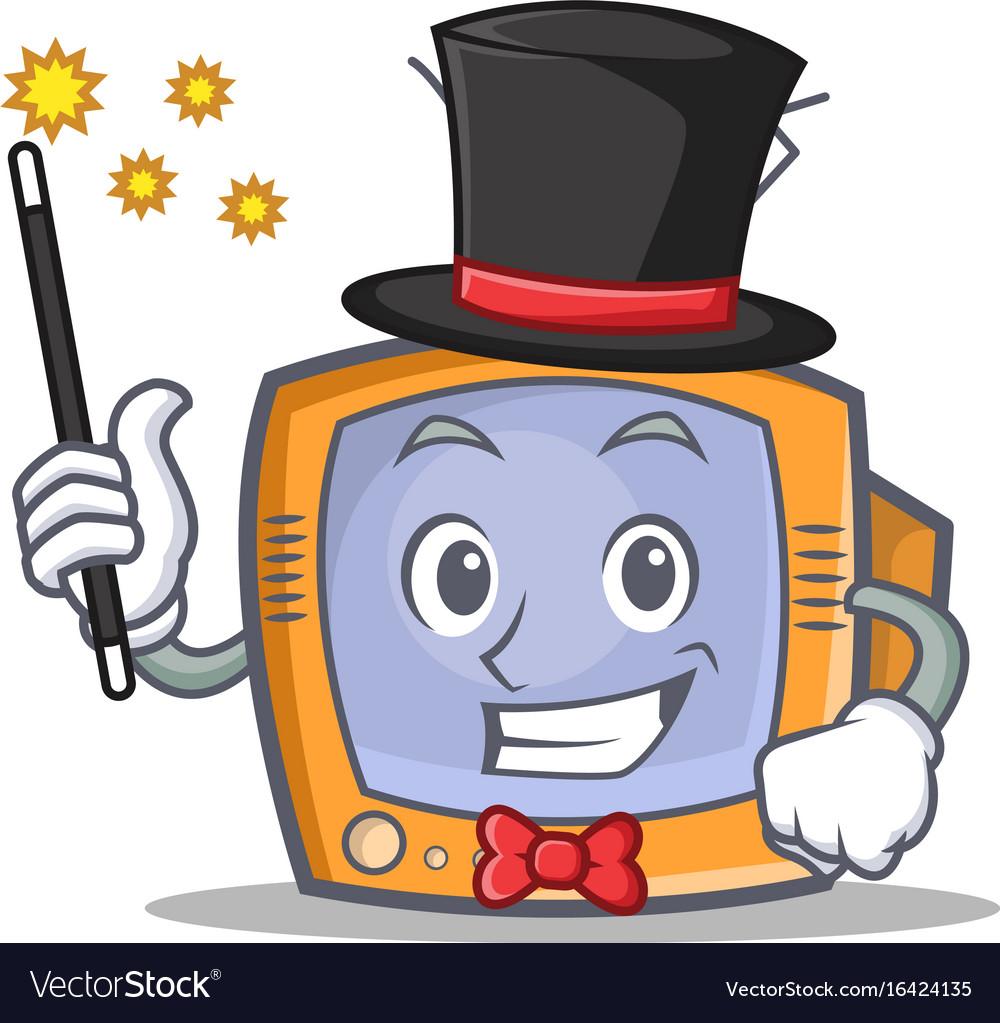 Magician tv character cartoon object