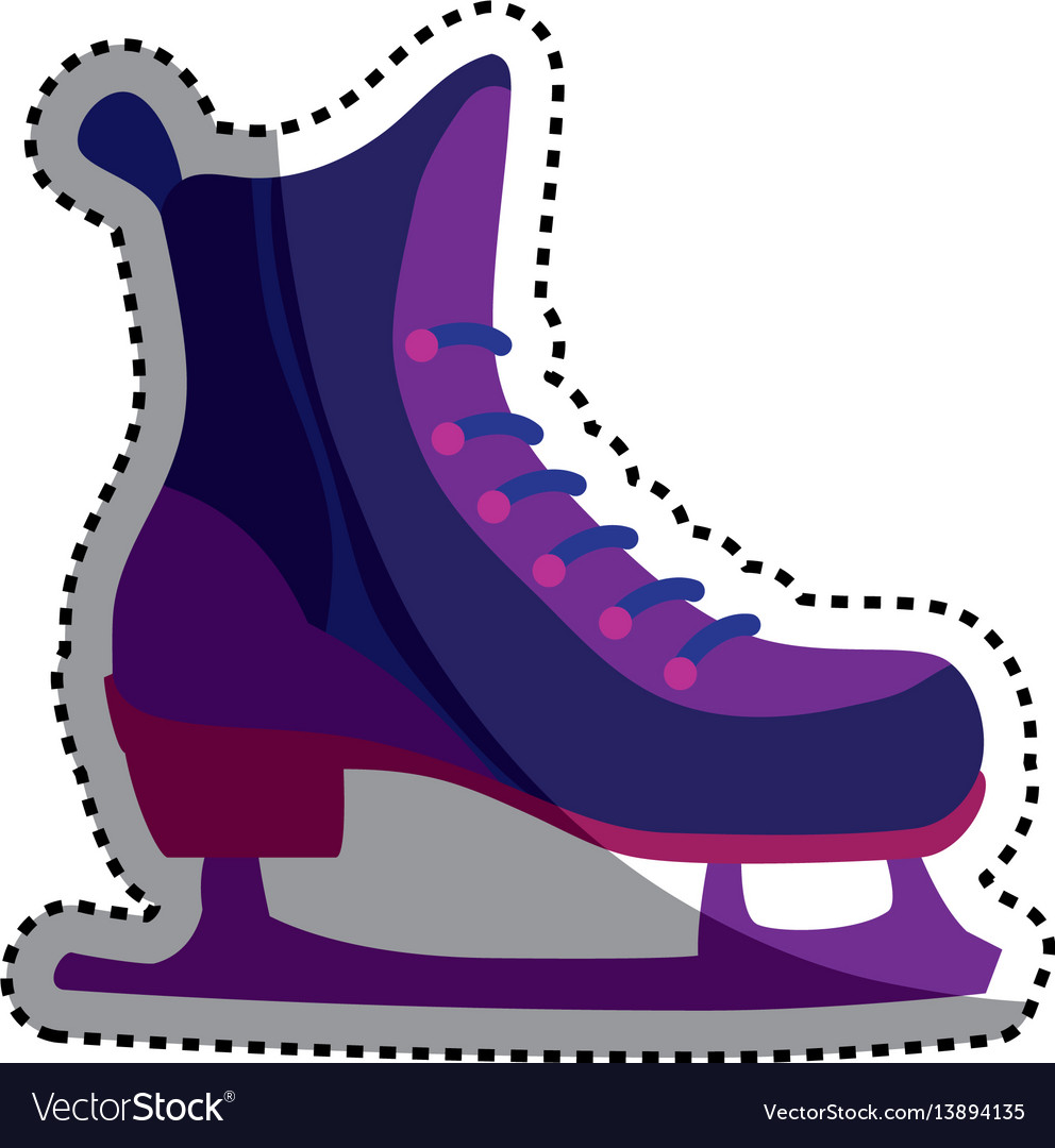 Rollers and ice skates sport