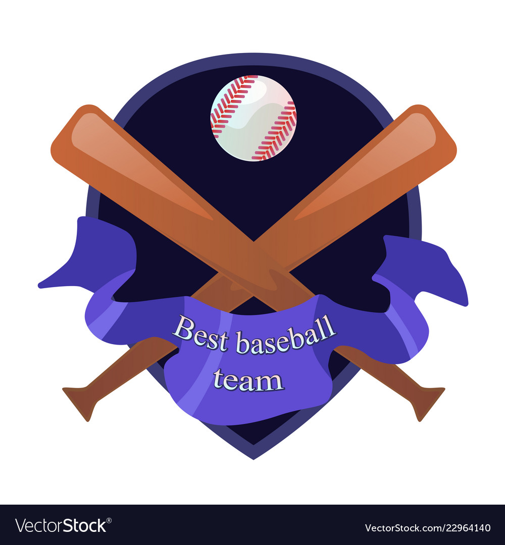 Beseball team emblem