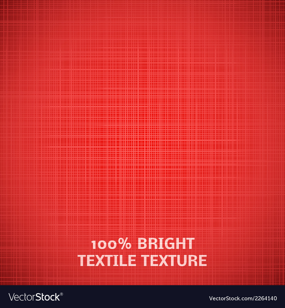 Red Fabric Texture For Your Elegant Design Vector Image