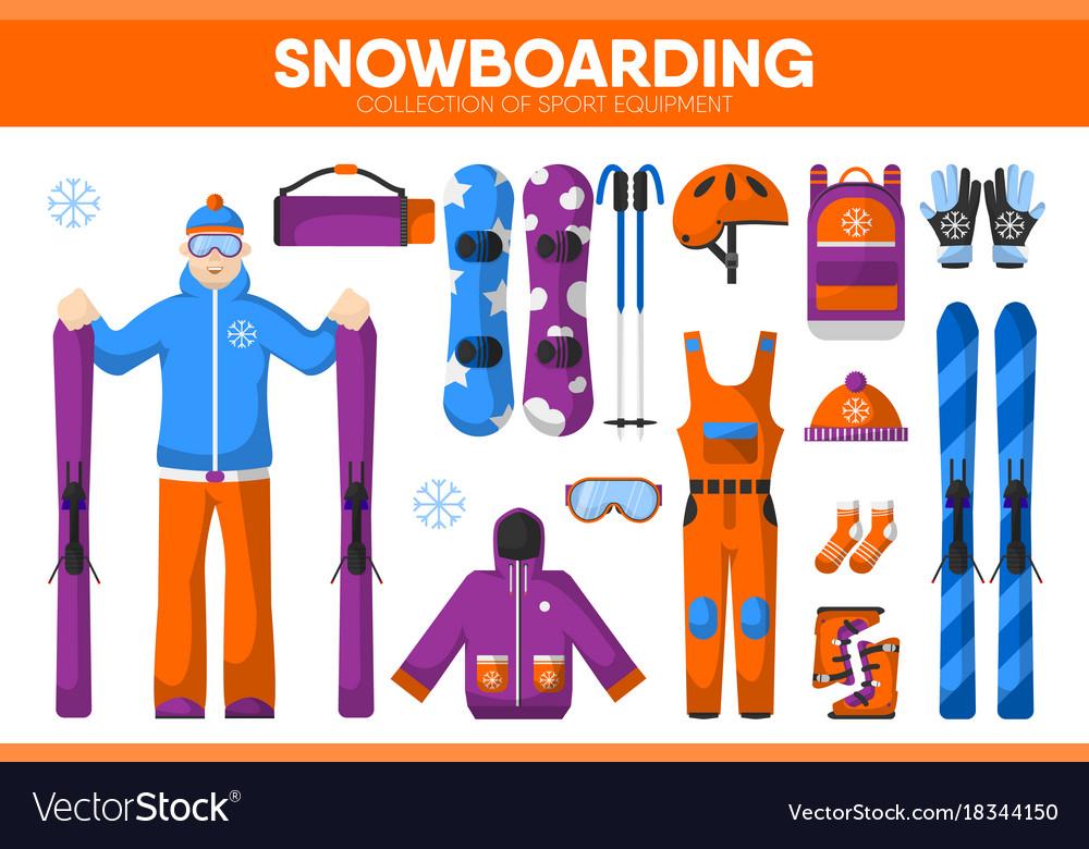 Snowboarding skiing sport equipment snowboarder