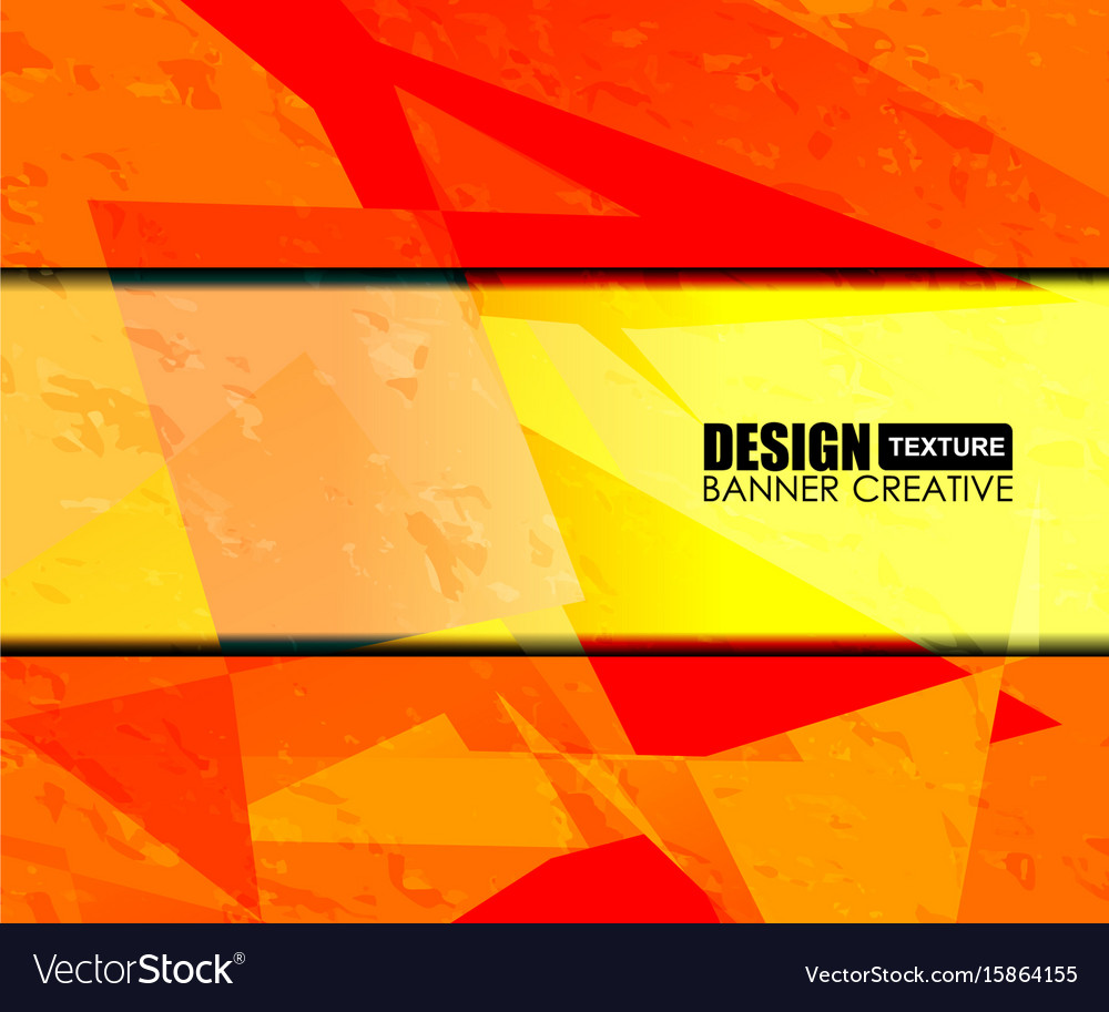 Background orange texture design vector image