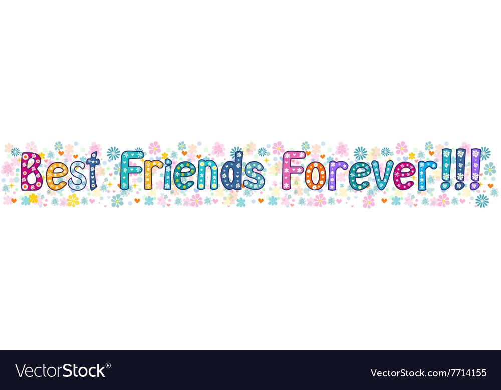 Best friends forever - banner