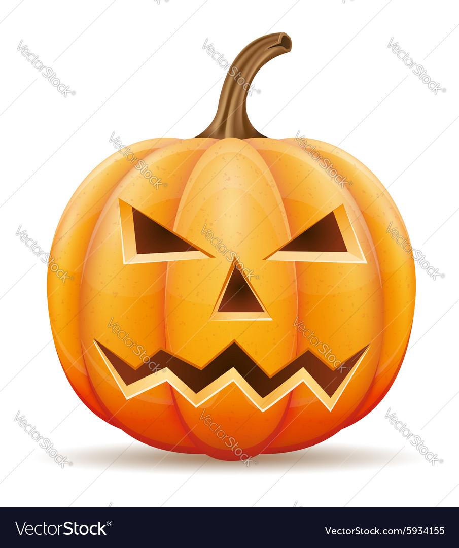 Pumpkin 06 vector image