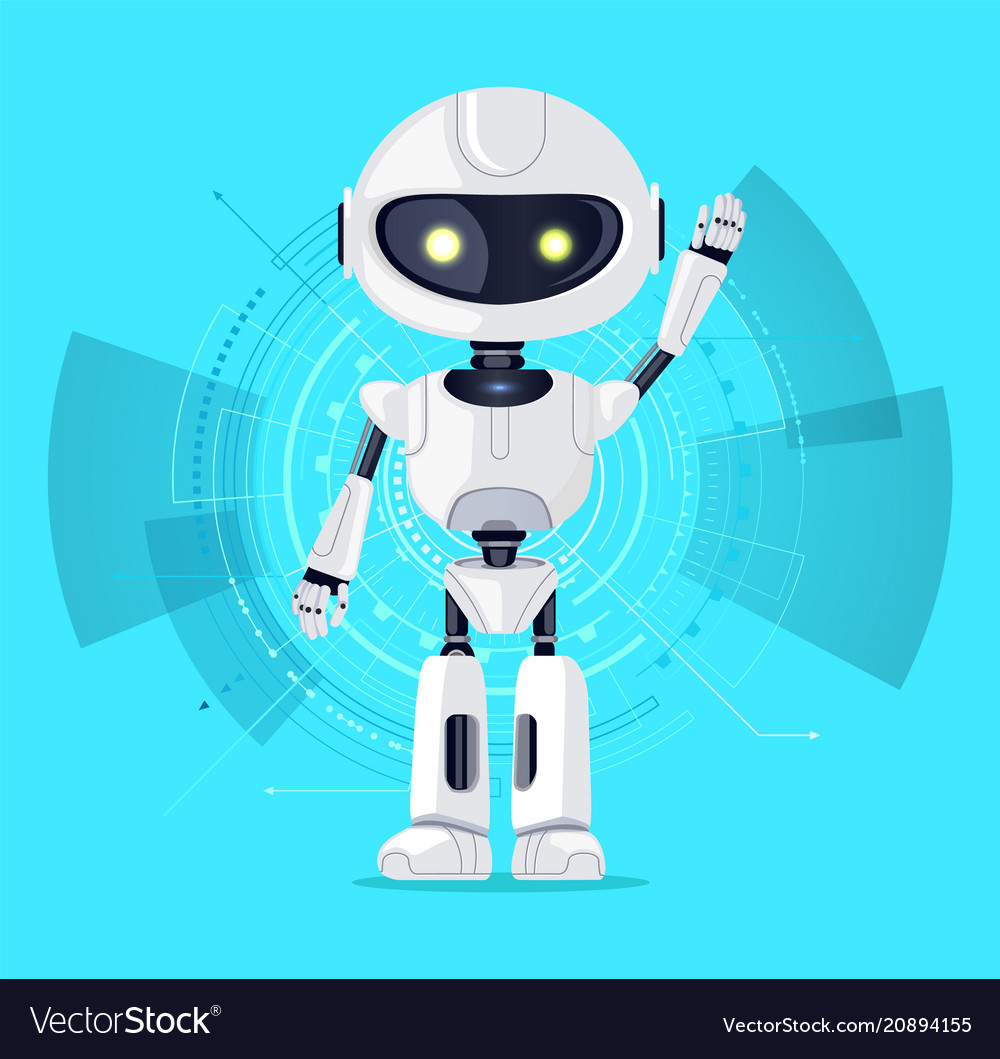 Robot and interface azure