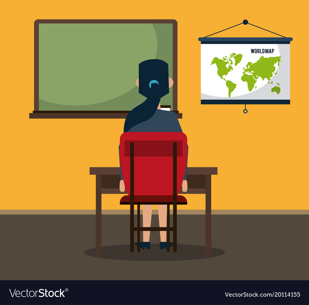 Student seated in classroom royalty free vector image student seated in classroom vector image gumiabroncs Gallery