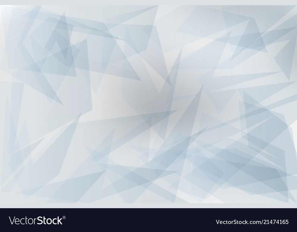 Abstract grey transparent geometric background
