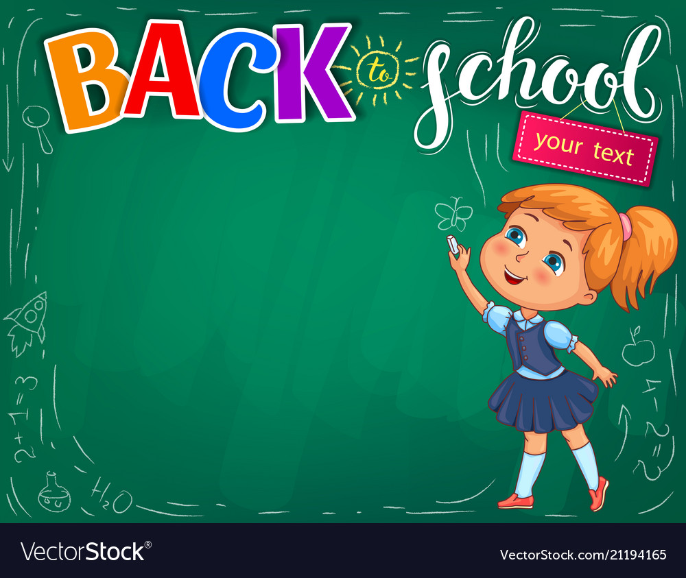 Back to school bright for your text