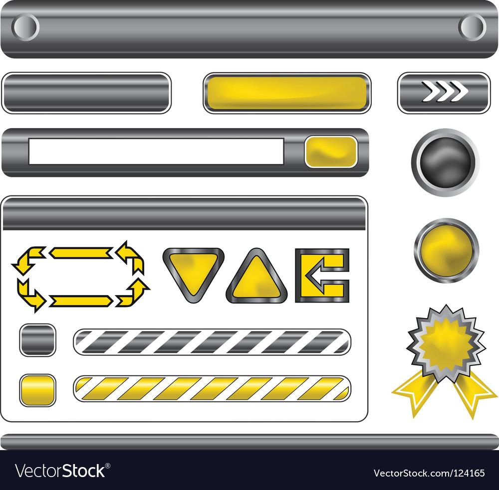 Web template elements
