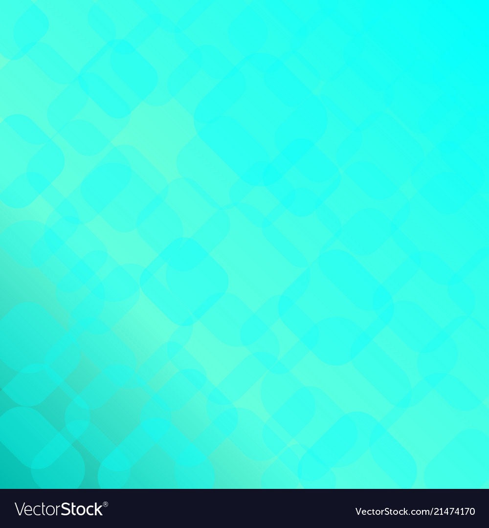 Abstract bright blue background with geometric