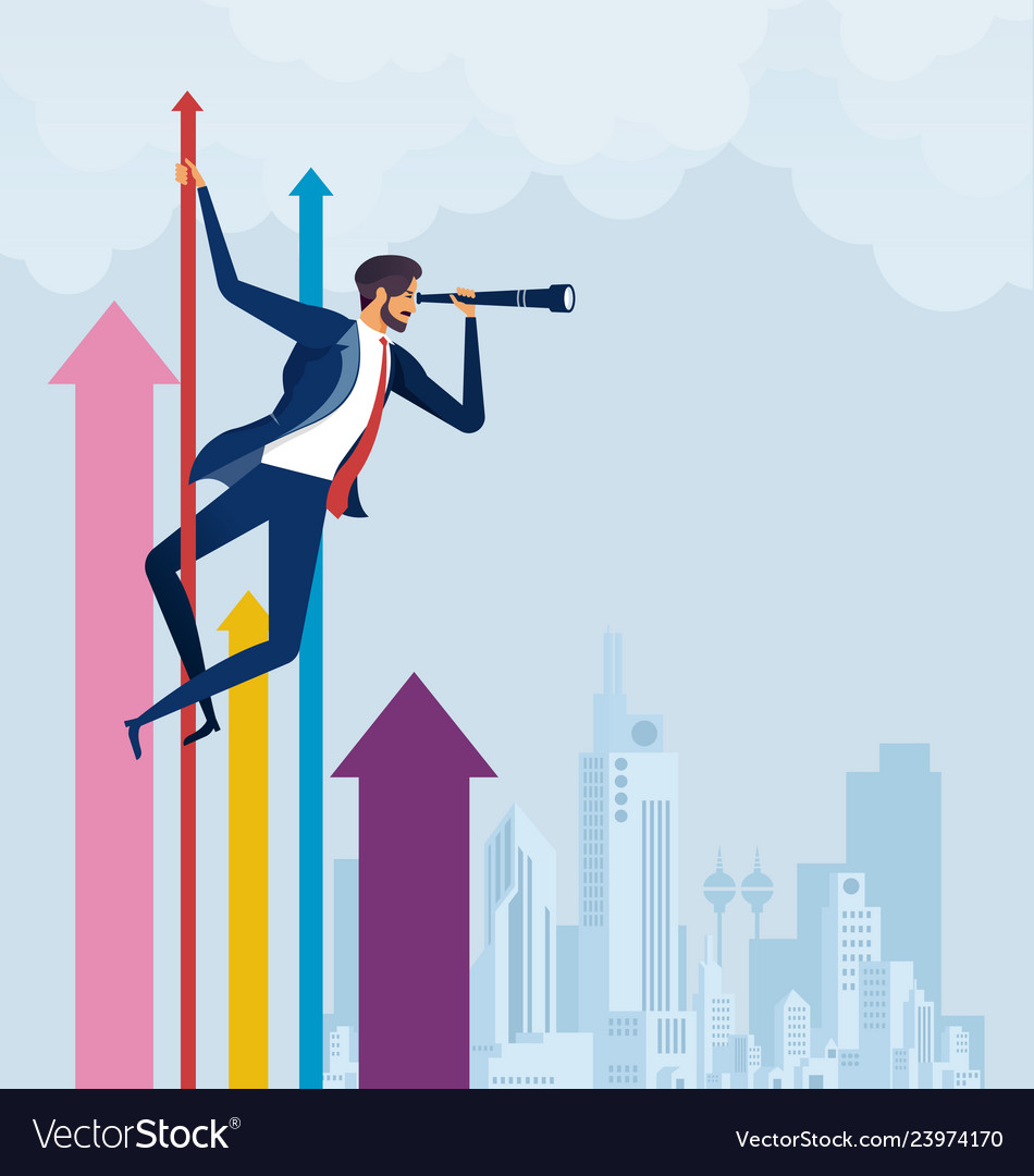 Business vision concept