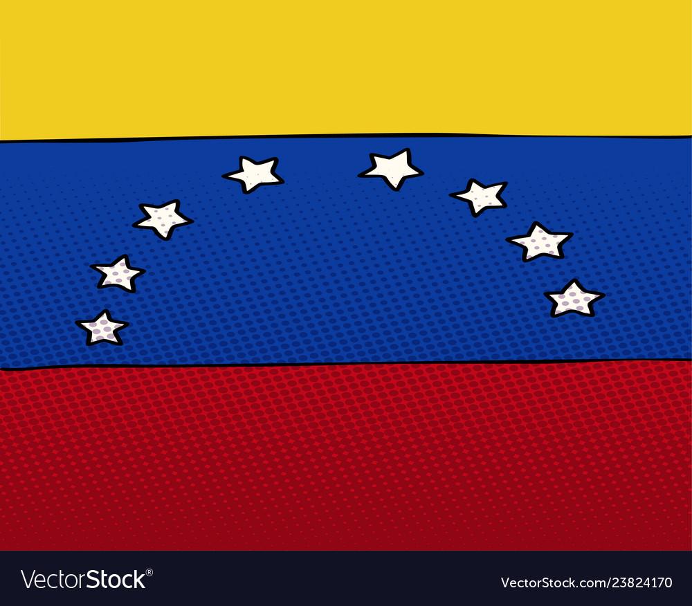 National flag venezuela