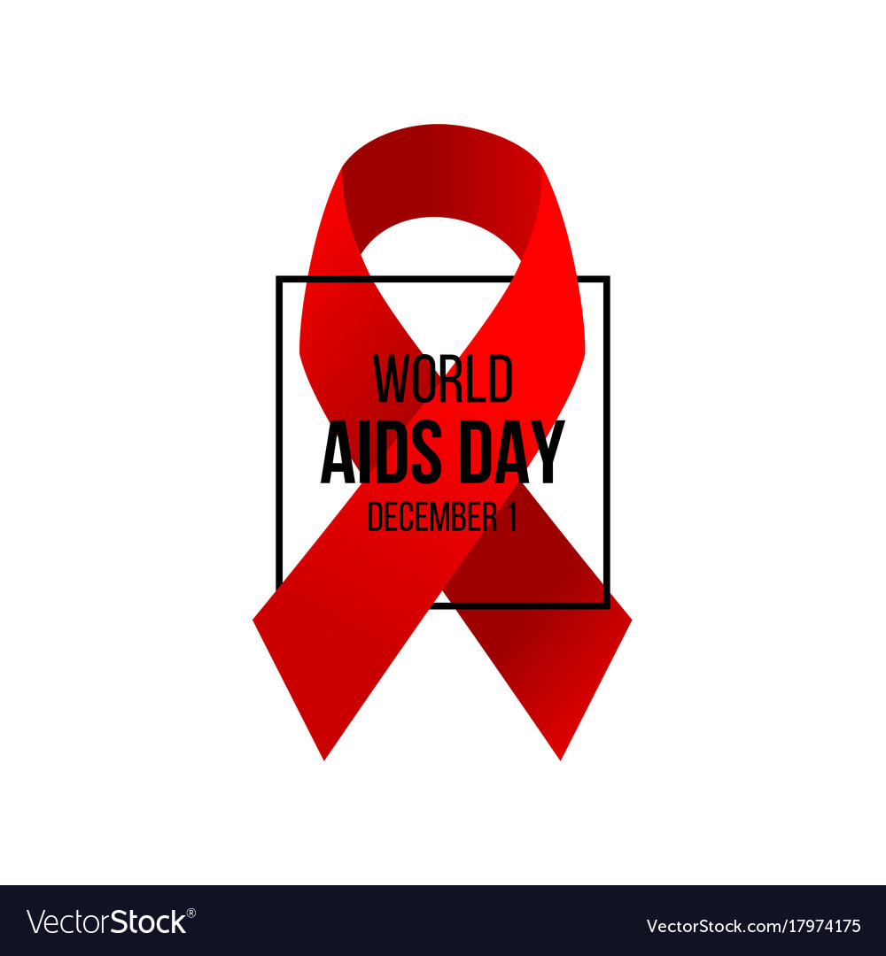 Aids awareness day background