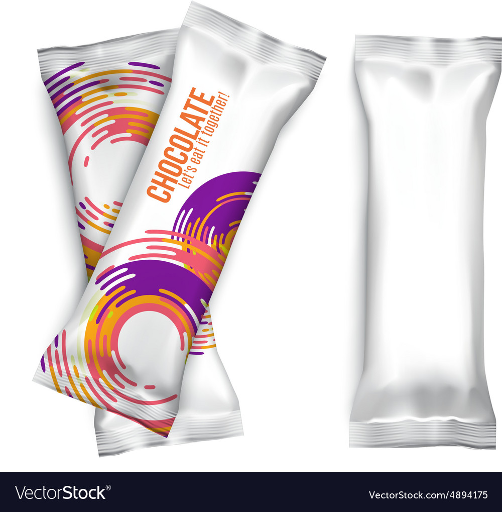 Blank Foil Food Snack Packages