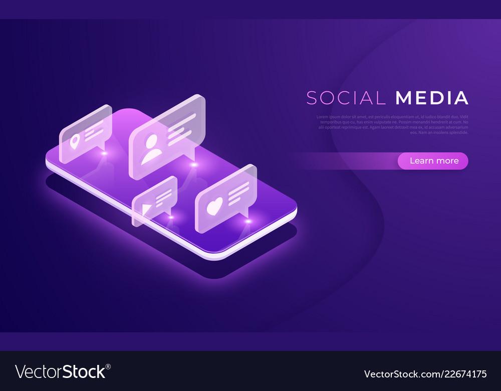 Social media communication networking chatting