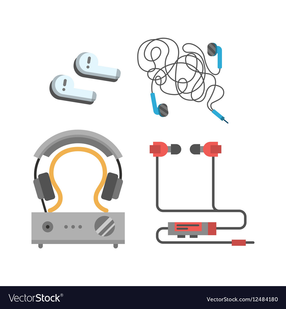 Headphones set