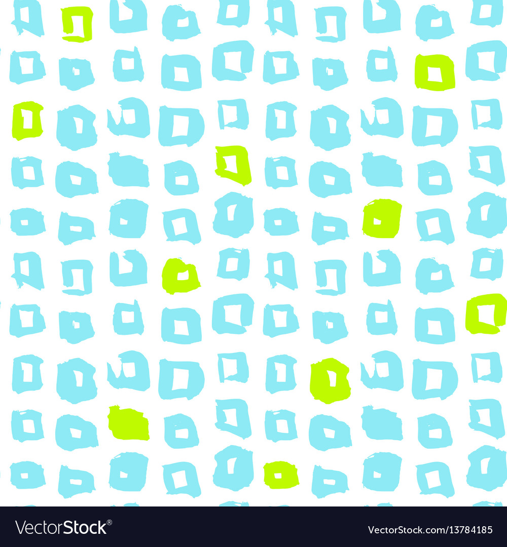 Square funky seamless pattern