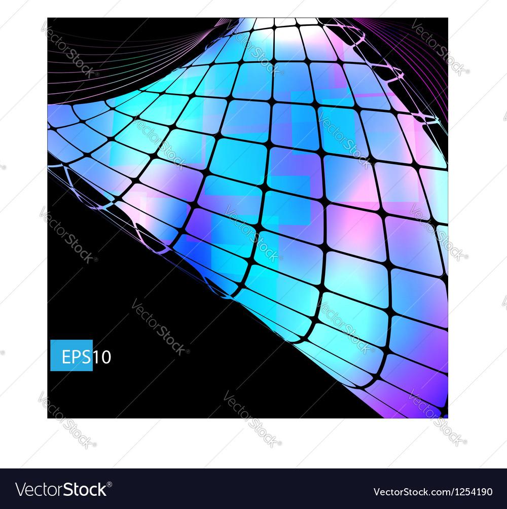 Dark abstract hi-tech blue background