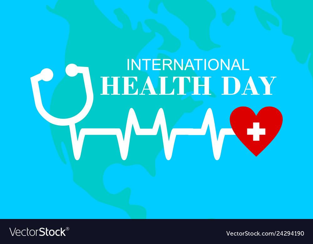 International health day logo