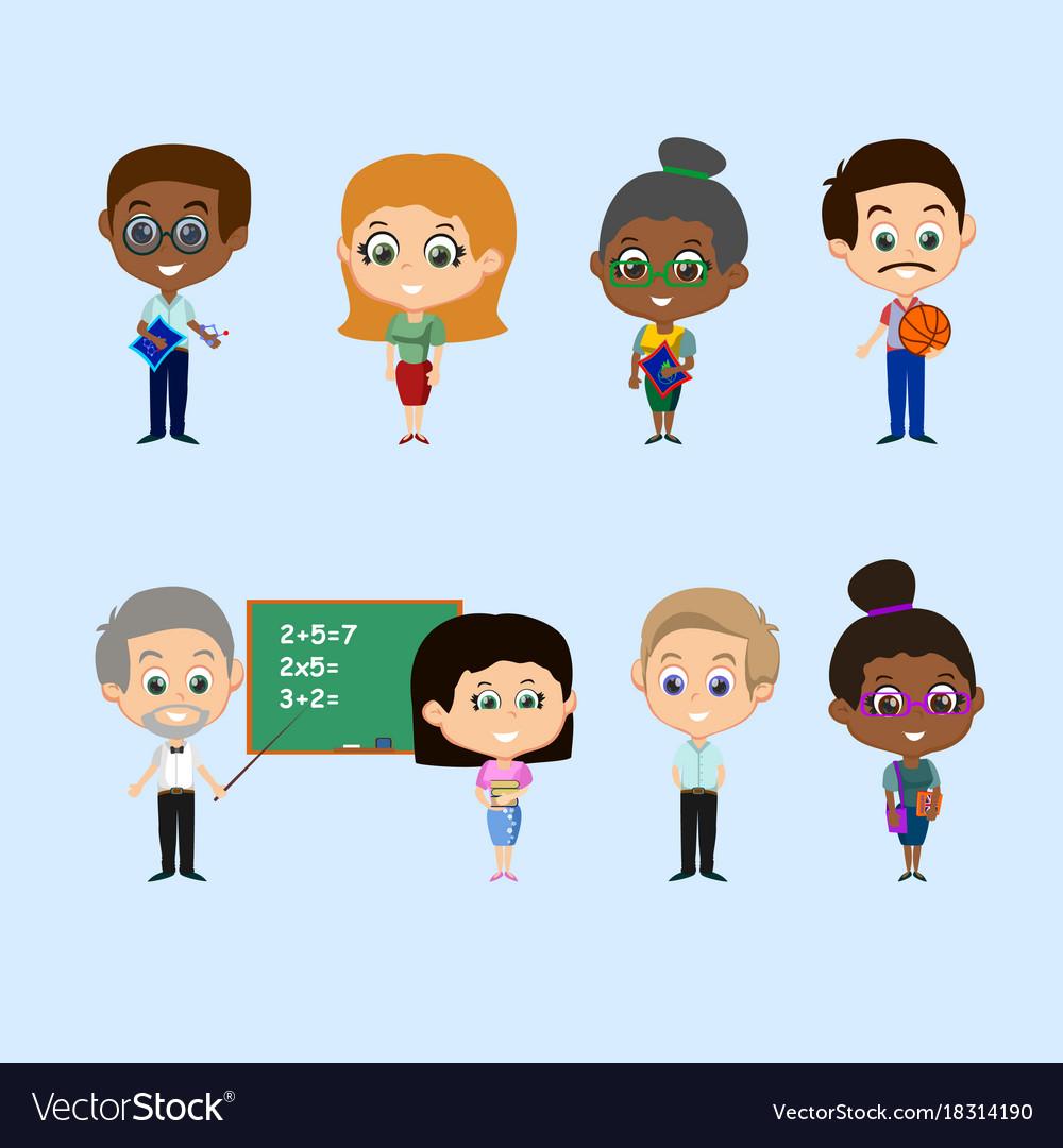 Set of teachers