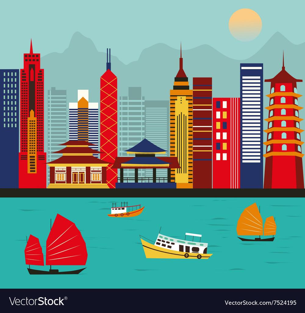 Asian big city