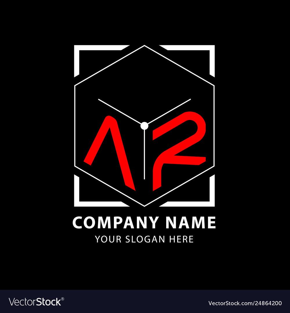 Letter ar logo design template elements