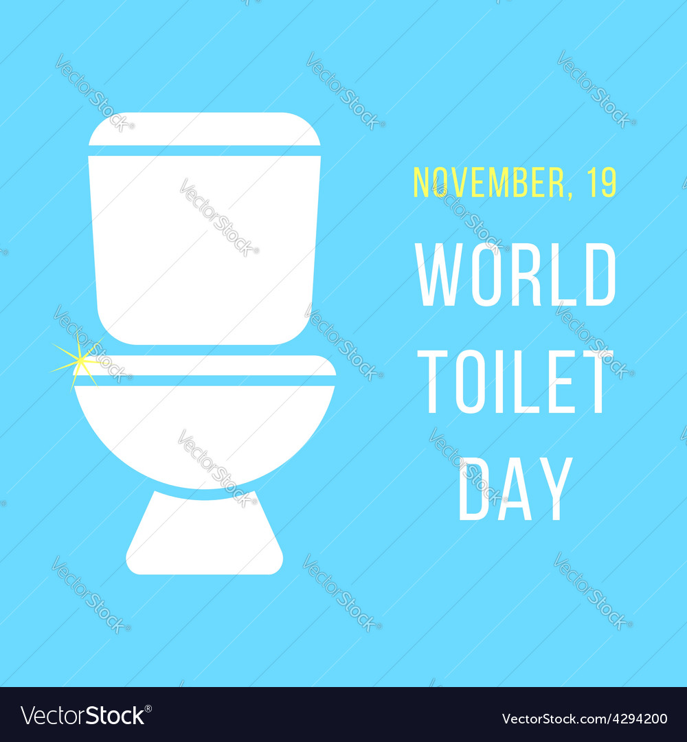 World day of the toilet bowl