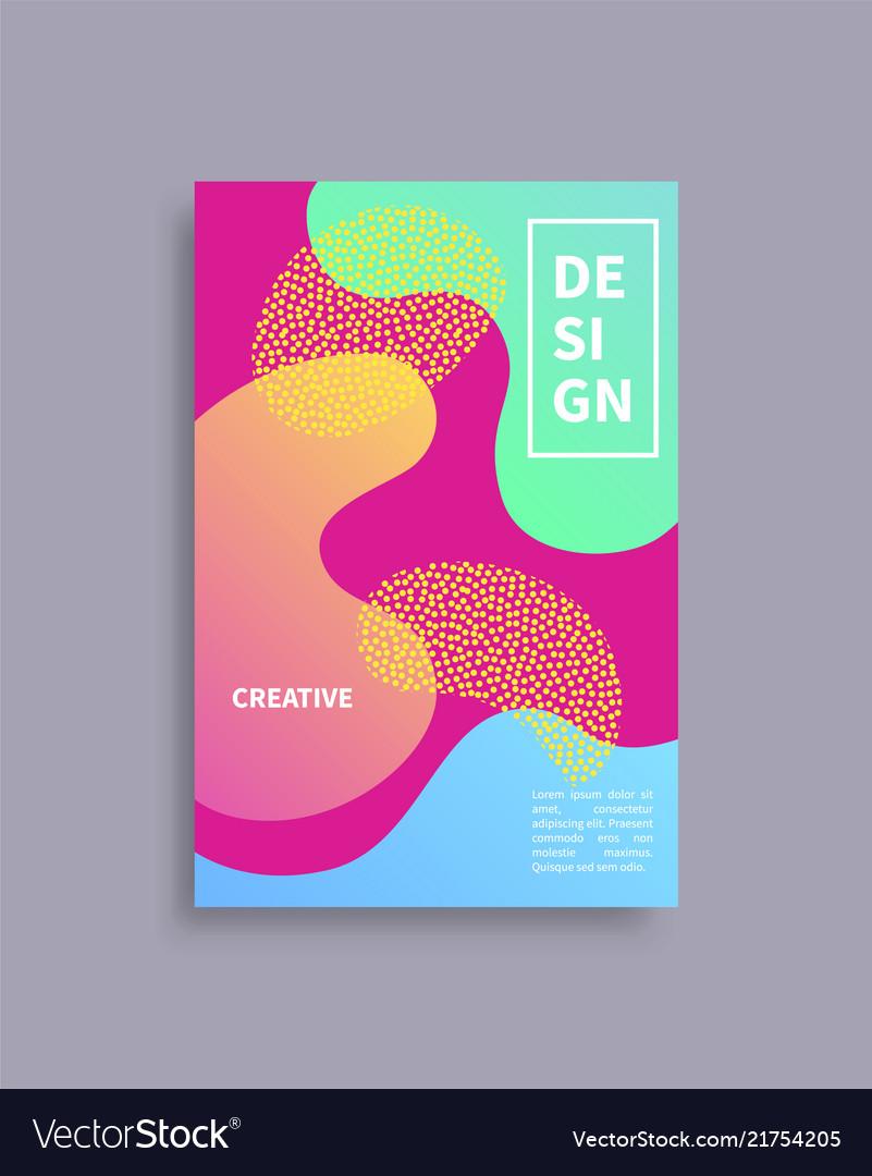 Design creative cover text