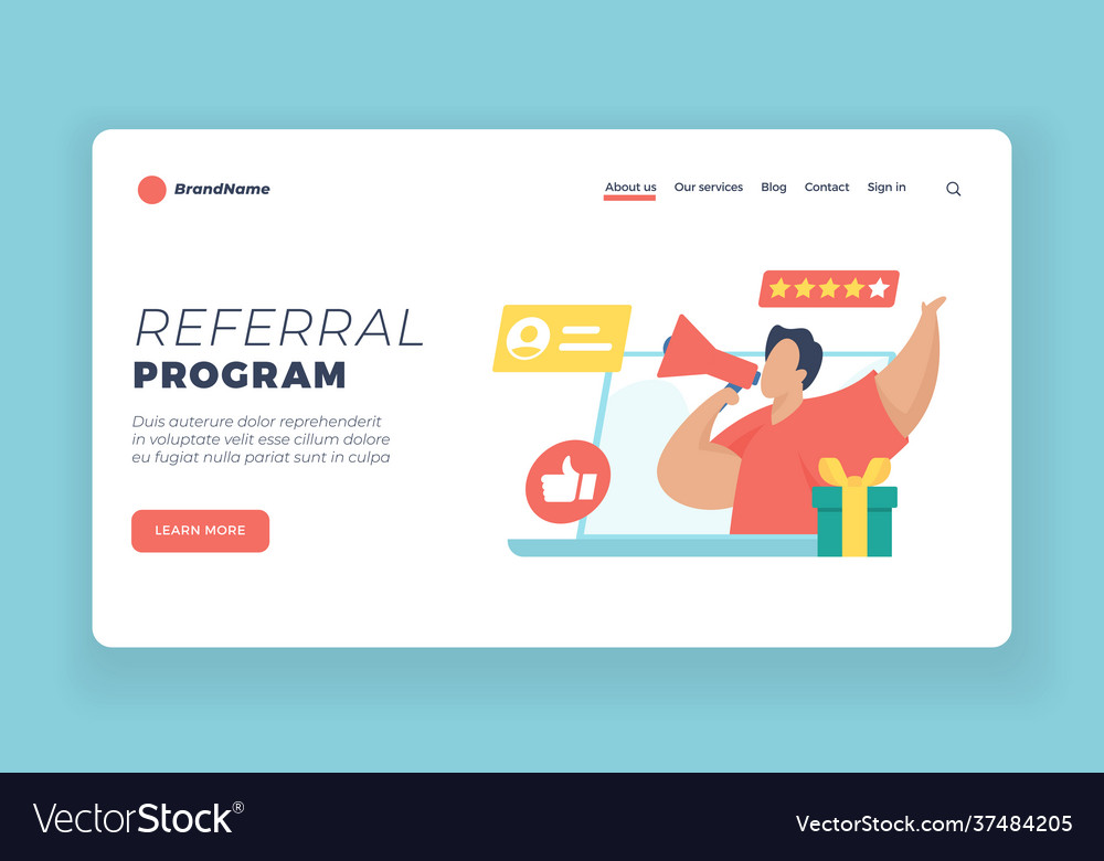 Template referral program How to