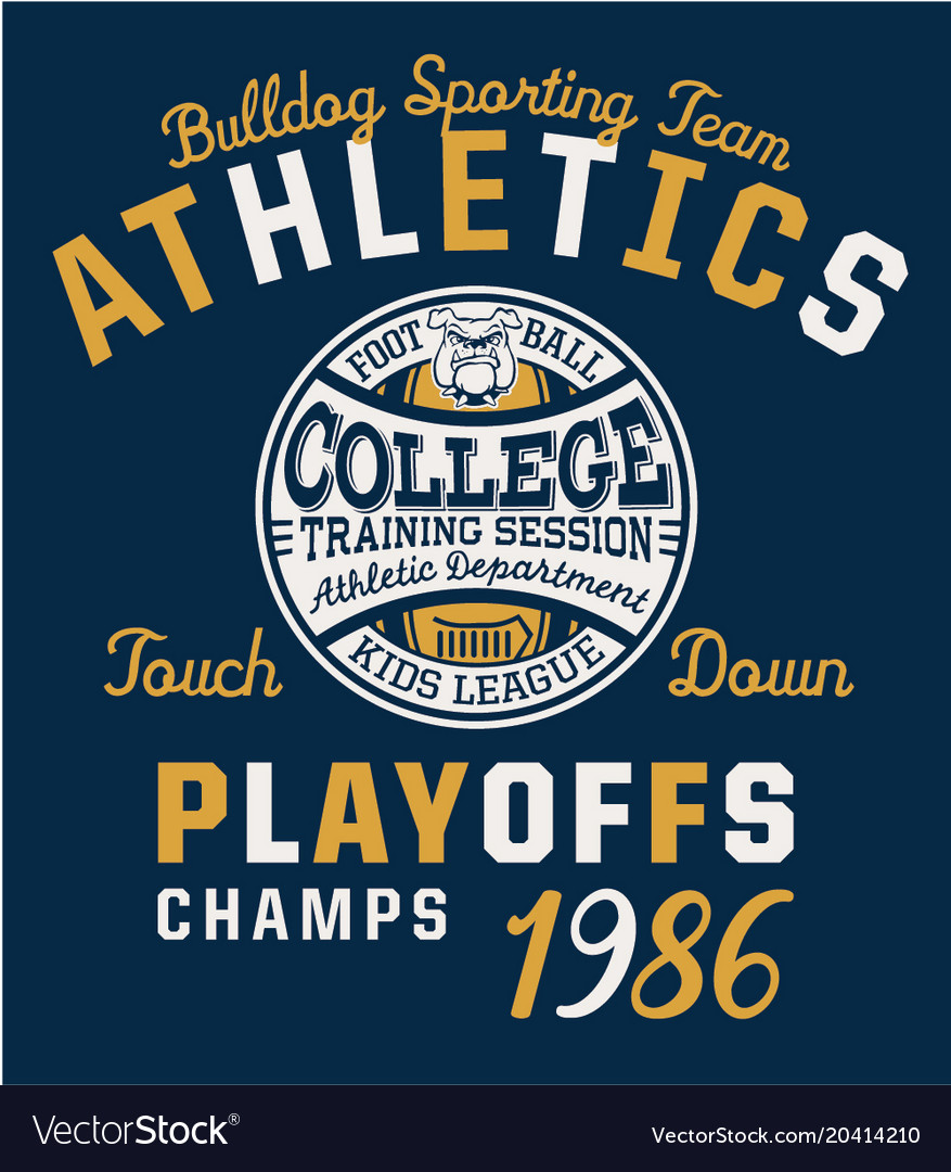 Bulldog team college american football