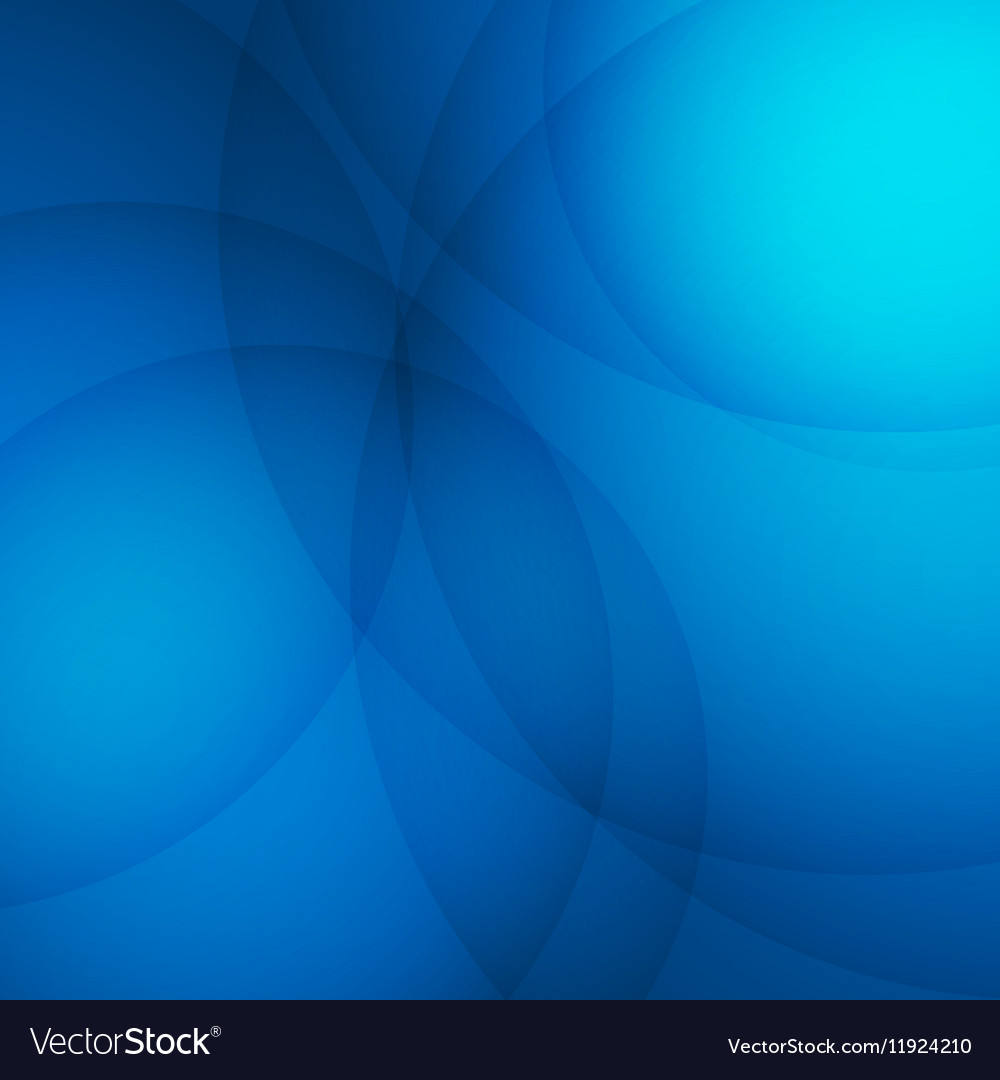 Curve element with blue background vector image