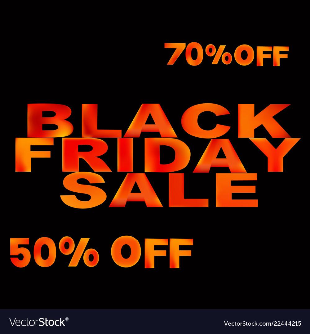 Black friday sale template black friday