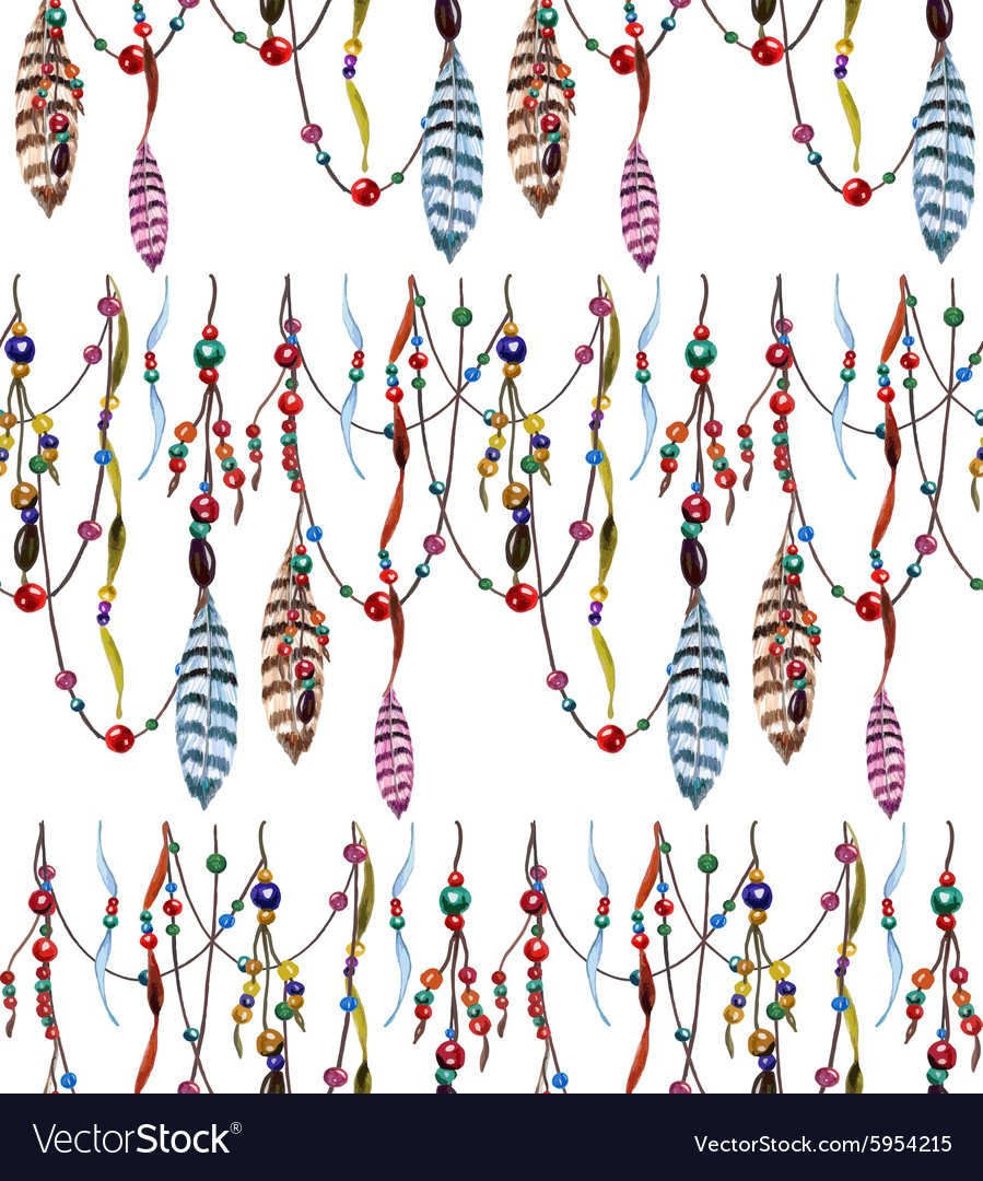 Feather and Bead pattern