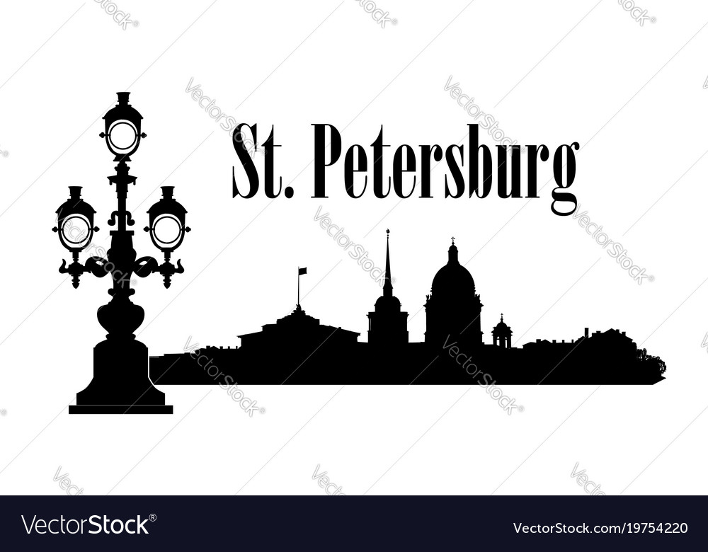 Saint-petersburg city russia st isaacs cathedral
