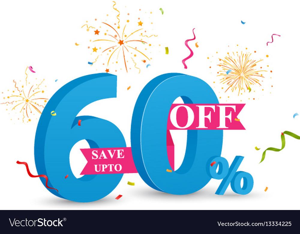 Discount sale banner design