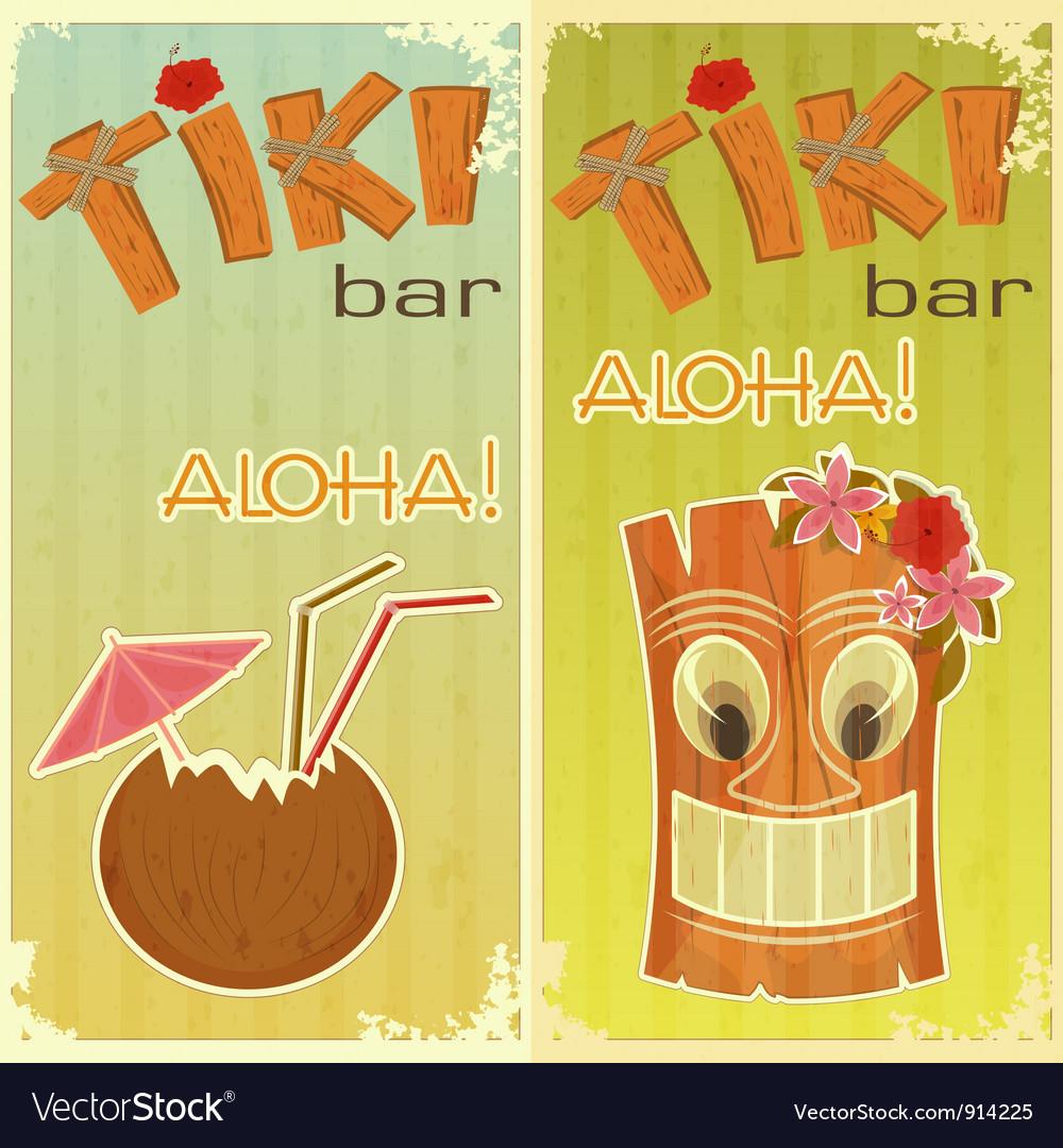 Tiki bars hawaiian