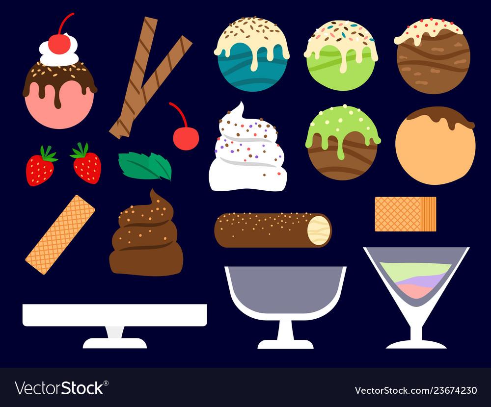 Dessert maker ice cream balls