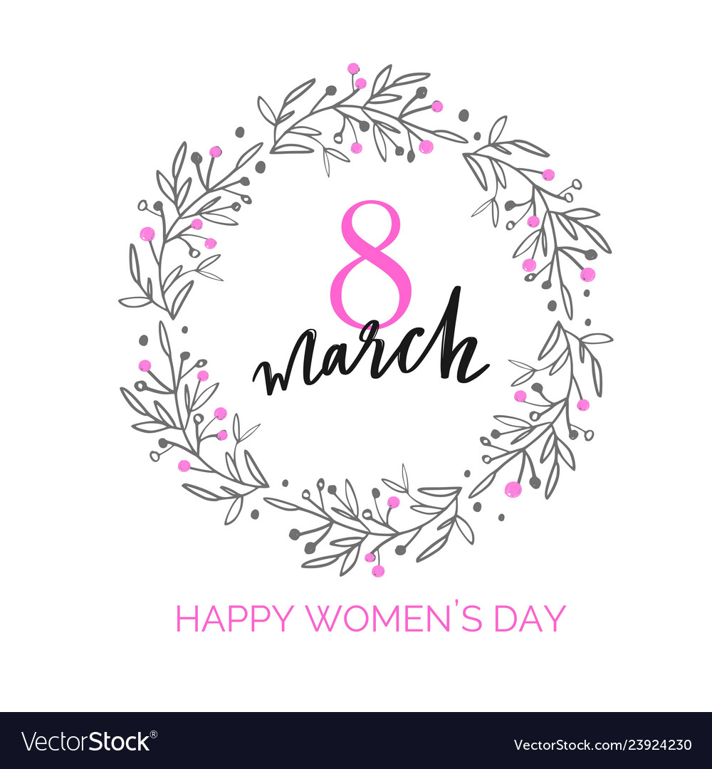 Happy international women s day holiday
