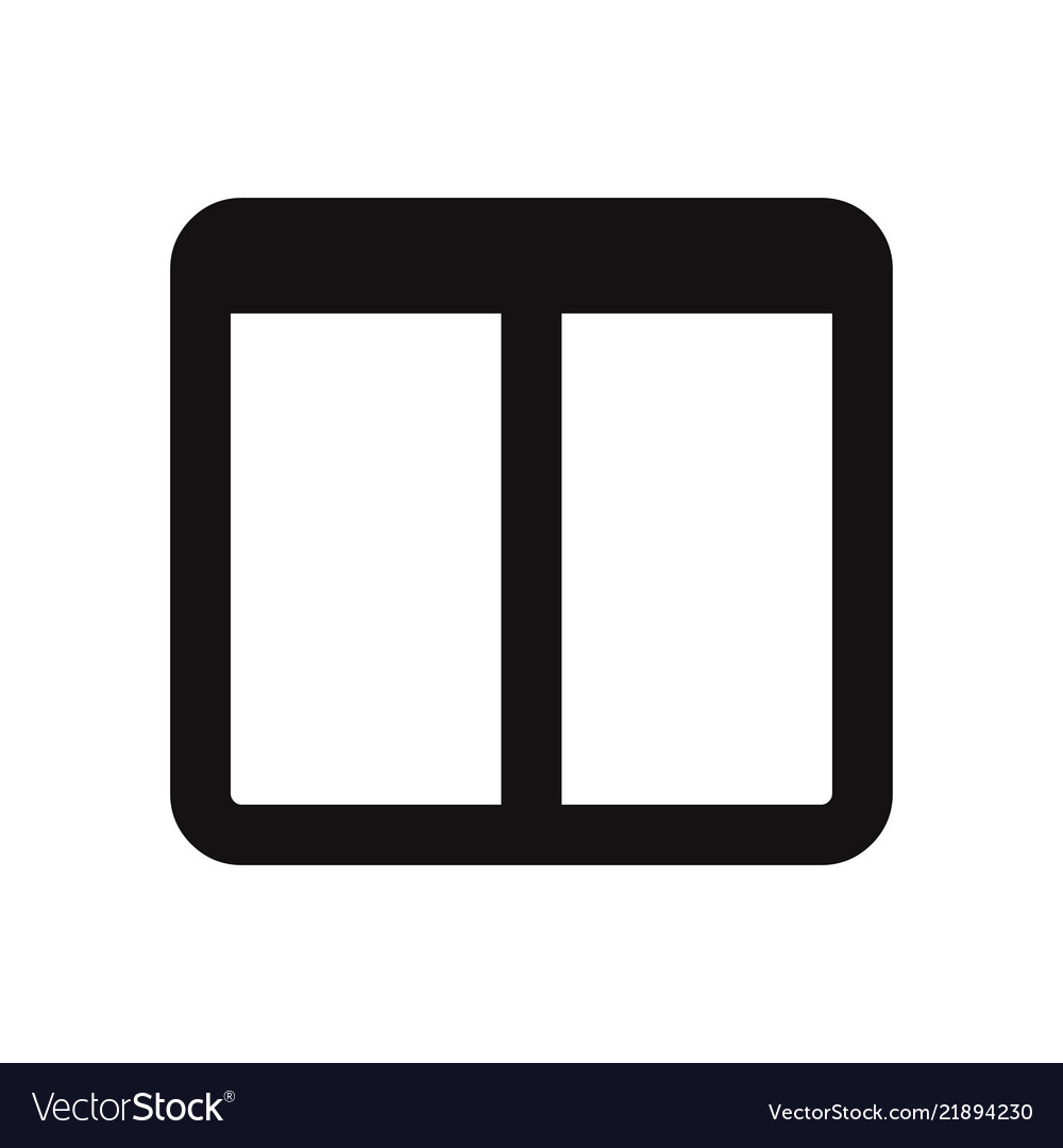 Two columns layout icon