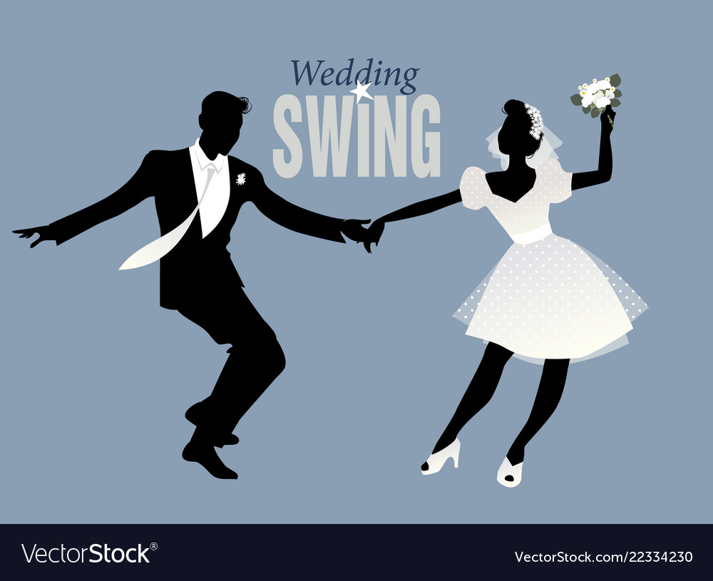 Wedding dance bride and groom dancing swing lindy