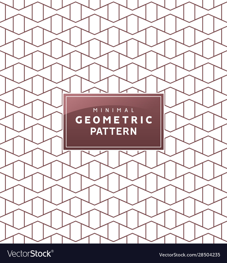 Abstract geometric minimal pattern with seamless