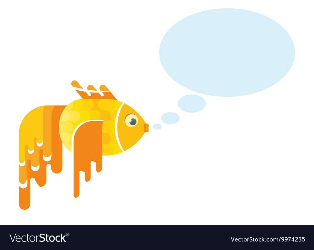 Golden fish message