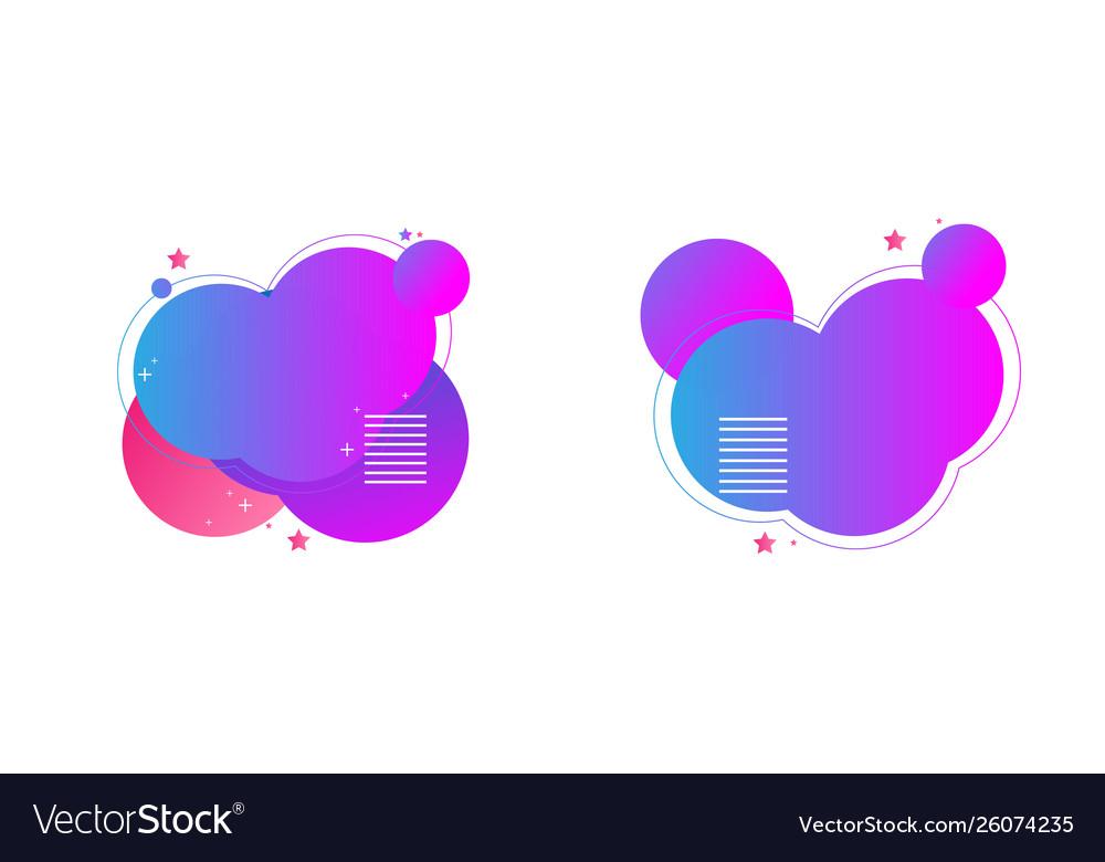 Gradient heart shapes