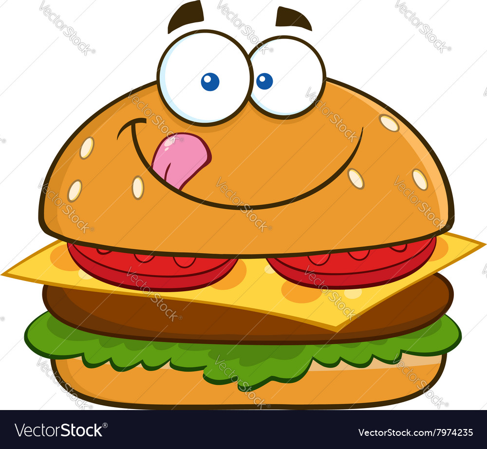 hungry burger cartoon royalty free vector image free mexican clip art images free mexican clipart images
