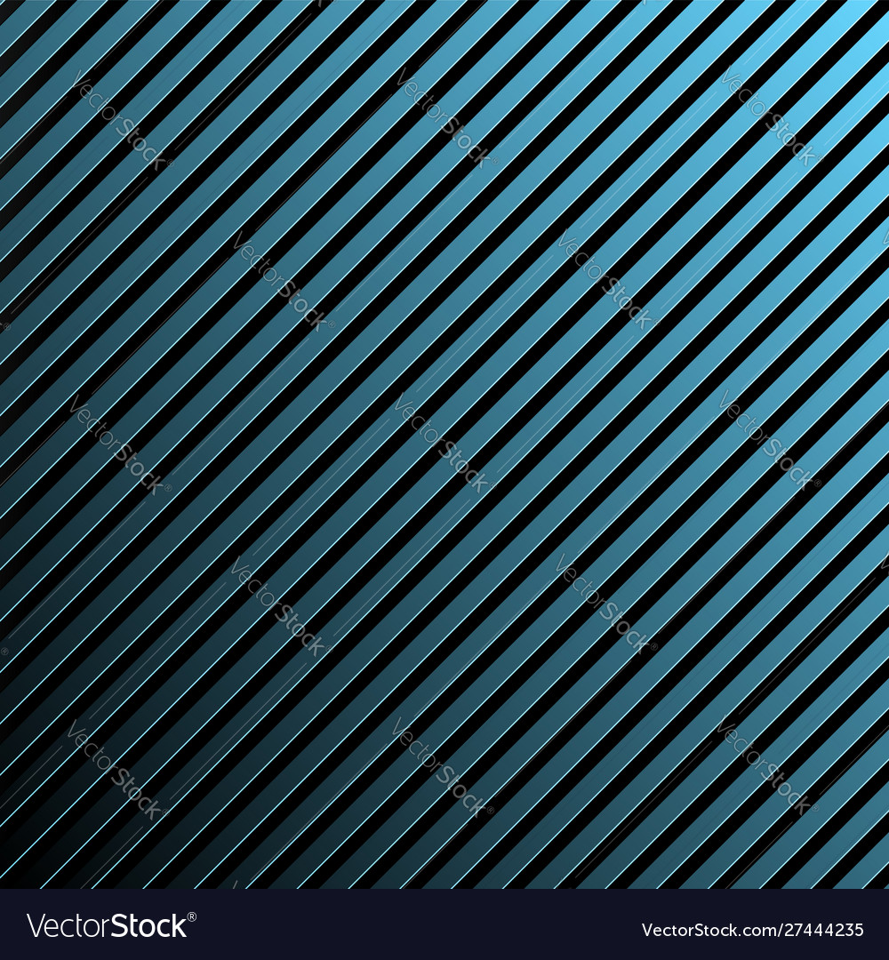 Shiny blue flat metal stripes background