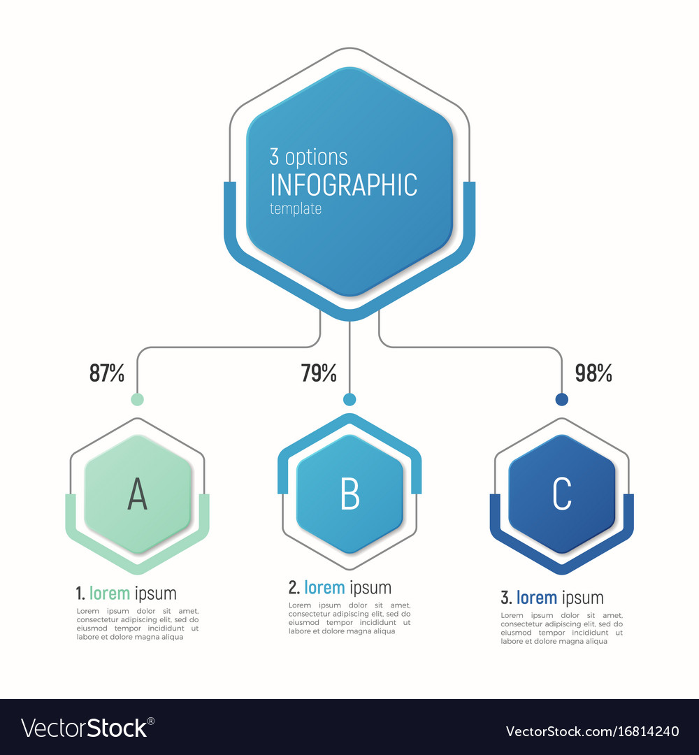 Iinfographic template for data visualization 3